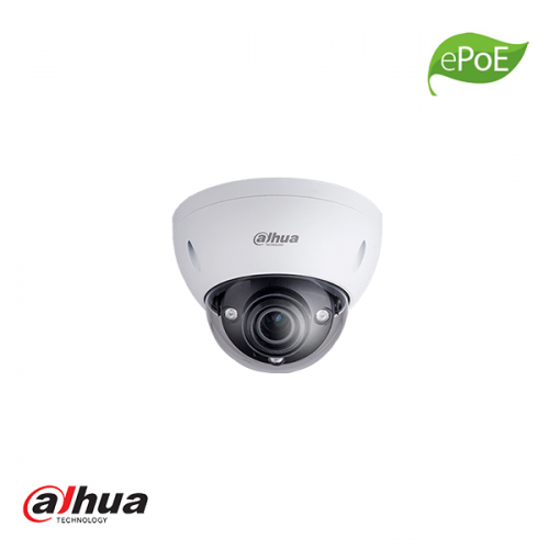 Dahua 4MP vandaalproof IR dome camera 2.7-13.5mm motorzoom ePoE