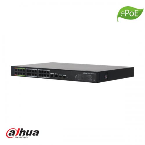 Dahua 24 kanaals L2 Managed ePoE Switch