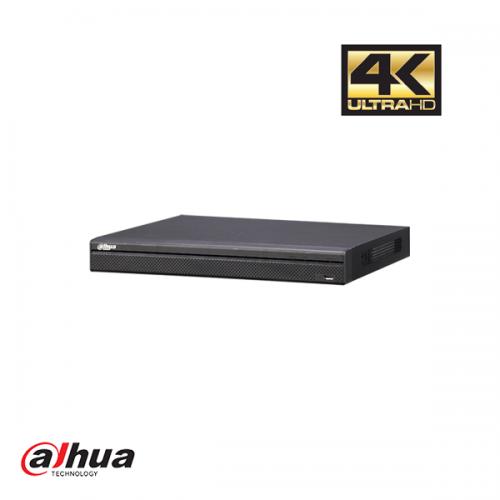 Dahua 8 kanaals 1U 4K H.265 NVR incl 2 TB HDD