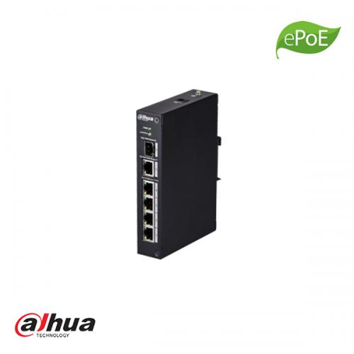 Dahua 4 poorten industrial switch ePoE