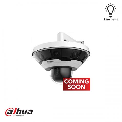 Dahua 8 x 2MP Multi-Sensor 360 graden Panoramic with 2 MP Integrared PTZ Camera