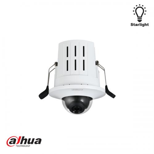 Dahua 2MP Starlight inbouw dome camera 2.8mm