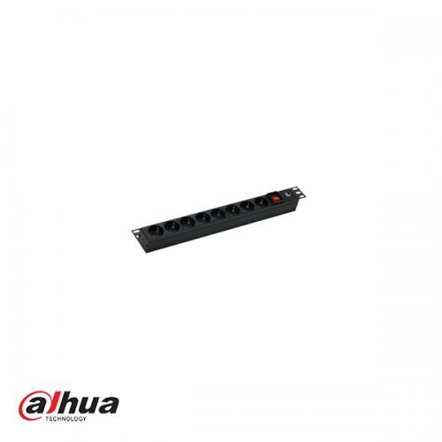 """Dahua 19"""" 8 Outlet Rackmount Power Strip"""