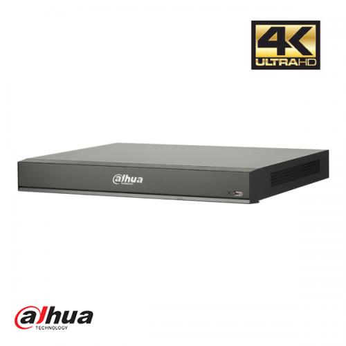 Dahua 16 kanaals 1U 8xPoE AI Network Video Recorder incl 2TB HDD