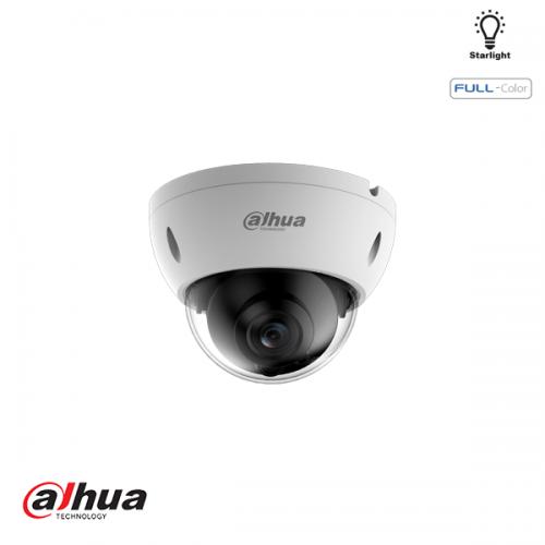 Dahua 2MP WDR Full-color Starlight Dome Network Camera 3.6mm