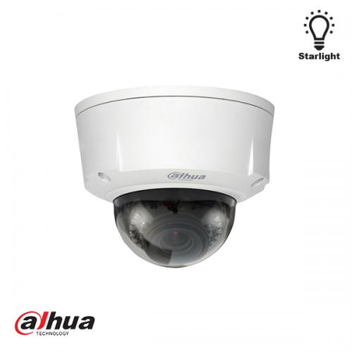 Dahua 2 MP Starlight Ultra-smart Network (IR) Dome Camera Motorized lens