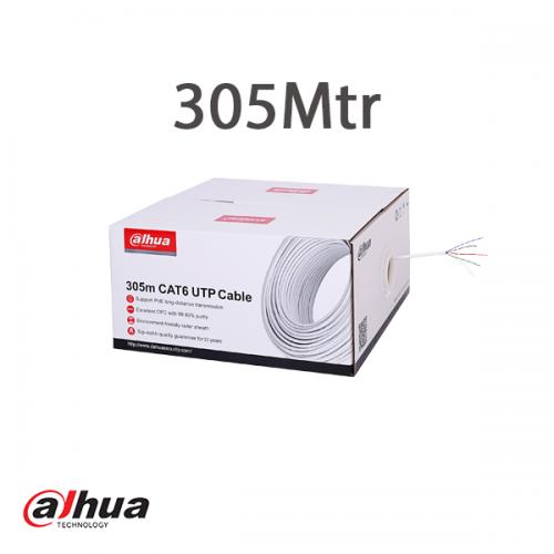 Dahua 305m UTP CAT6 Cable CPR Eclass