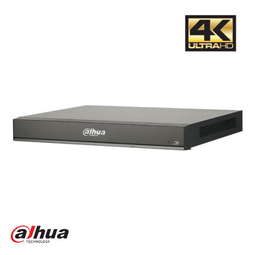 Dahua 16 kanaals 1U 16xPoE AI Network Video Recorder incl 2TB HDD