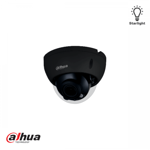 Dahua 4MP Lite AI IR Vari-focal Dome Network Camera ZWART