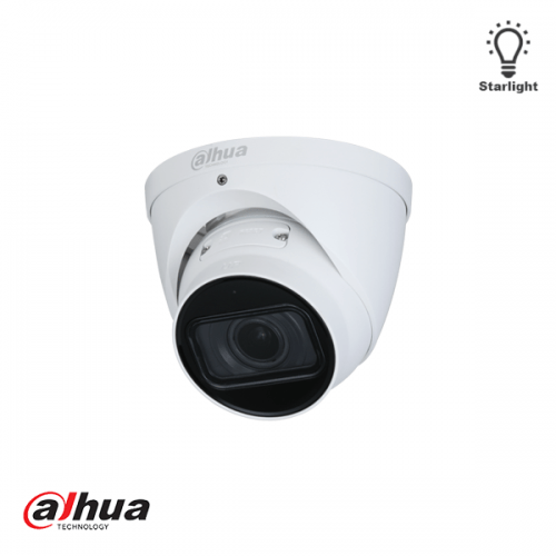 Dahua 2MP Motorized 2.7-13.5mm AI Starlight IR Dome Camera