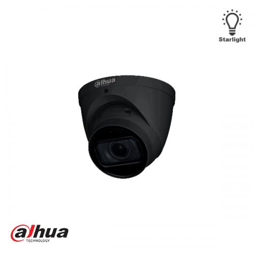 Dahua 2MP Motorized 2.7-13.5mm AI Starlight IR Dome Camera ZWART