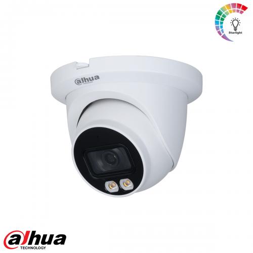Dahua 4MP Lite AI Full-color Warm wit licht LED Eyeball Network Camera 3.6mm