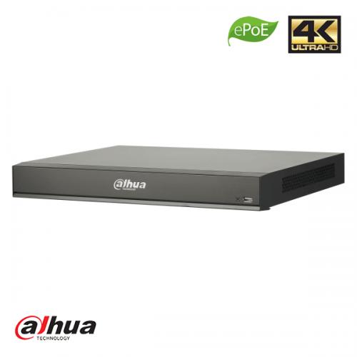 Dahua 16 kanaals 16 x PoE 1U AI Network Video Recorder incl 2TB HDD