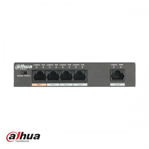 Dahua 4-port Hi-PoE switch 60W (Unmanaged)