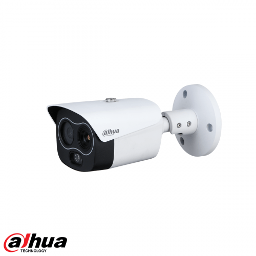 Dahua 4MP Thermal 256x192 Network Mini Hybrid Bullet Camera (Thermal: 7mm / Visual: 8mm)