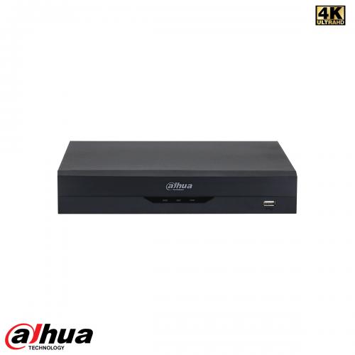 Dahua 4 Channel Penta-brid 4K-N/5MP Compact 1U WizSense NVR incl 1TB HDD